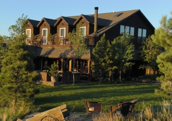 The Ranch House at Red Rock Ranch, a unique Colorado group vacation rental and family reunions location