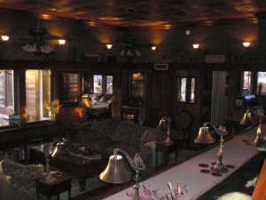 THE SALOON/GREAT ROOM OPENS UP TO THE DINING ROOM AND BREAKFAST ROOM/KITCHEN TO ALLOW DIFFERENT GROUPS TO VISIT WHILE STAYING IN CLOSE PROXIMITY TO EACH OTHER